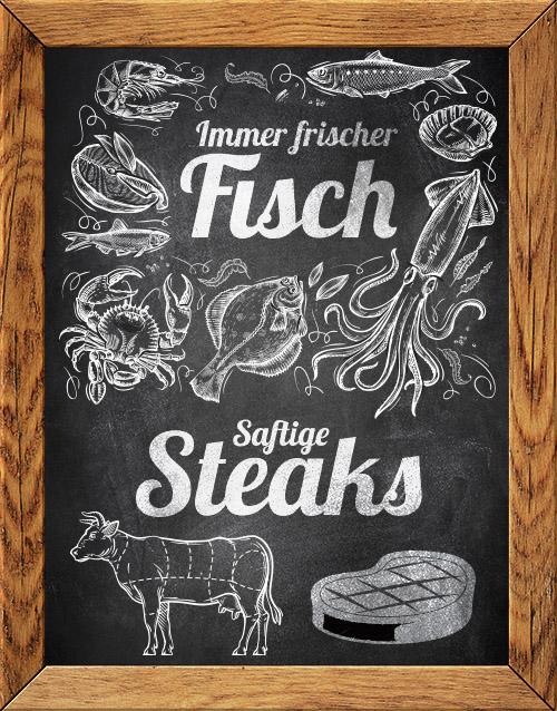 Frischer Fisch und saftige Steak im Delphin Berlin